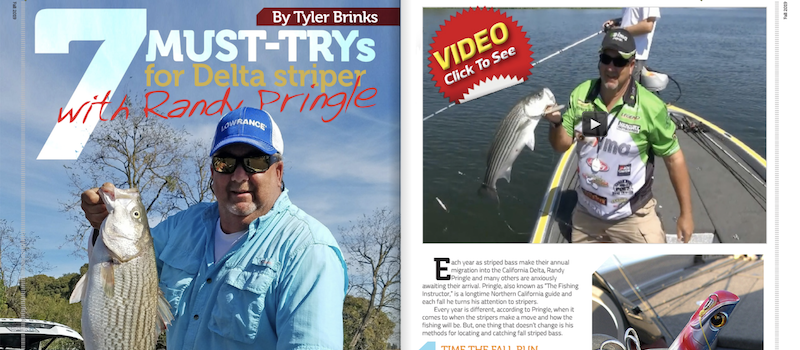 7 Must-Trys for Delta Stripers with Randy Pringle