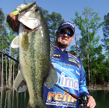 Michael Murphy is an FLW Tour Pro who has won over $170,000 with FLW. The South Carolina based Murphy has 8 Top-Ten finishes in 79 total events with FLW.